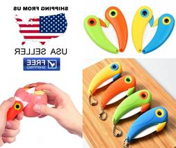 NEW Unique Bird Folding Handle Survival Knife Kitchen Tool C