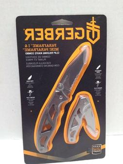 New Gerber Paraframe I and Mini Paraframe Folding Knife Comb