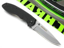 Schrade Folding Pocket Knife Linerlock Bead Blast Drop Point