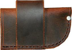 Universal Knife Sheath - Buffalo Leather - Scout - Concealed