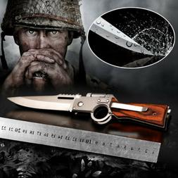 AK47 Tactical Folding Blade Knife Survival Hunting Camping P