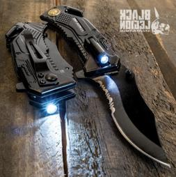 Army Spring Assisted Tactical Rescue Folding Pocket Knife w/