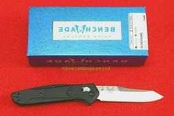 New BENCHMADE AXIS Folding Knife 940-2 Black G10 Handle / Sa