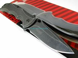 Kershaw Axle BlackWash Flipper Speed Assisted Opening Pocket