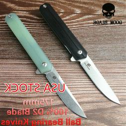 Ball Bearing Knives Folding Knife G10 Handle Camping Knife H