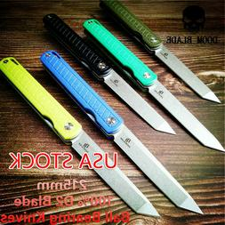 Ball Bearing Knives Pocket Folding Knife G10 Camping Hunting