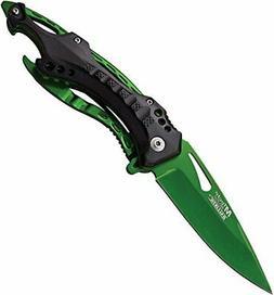 MTech USA Ballistic MT-A705GN Spring Assist Folding Knife Gr