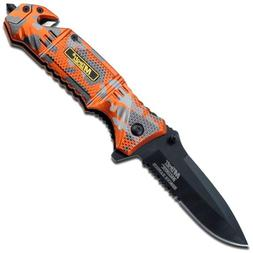 MTECH USA BALLISTICS MT-A804EM Spring Assisted Folding Knife