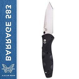 Benchmade - Barrage 583 Knife, Tanto Blade, Plain Edge, Sati
