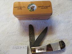 BEAR N SON CUSTOM HERITAGE COLLECTION PEARL FOLDING KNIFE CH