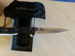 "Benchmade 417 Fact Folding Knife 3.95"" Satin Blade   1st Pro"