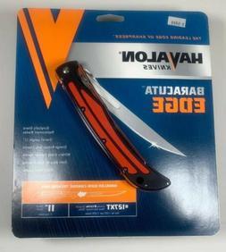 HAVALON Black BARACUTA Edge Folding Pro FILLET Knife + Sheat
