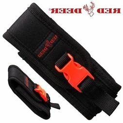 RED DEER Black Nylon Folding Pocket Knife Carrying Case