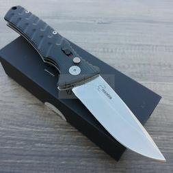 """Boker BOP03250 Strike Folding Knife SW 3.25"""" Drop Blade/Blac"""
