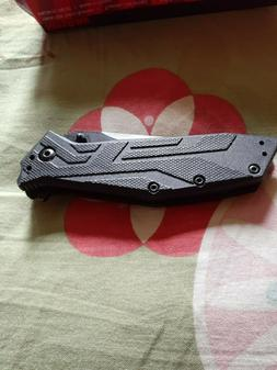 KERSHAW BRAWLER 1990 Folding Pocket Knife w/ Tanto Blade - B