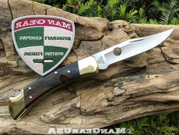 "Buck 110 Folding Hunter ""SpydieBuck"" conversion Man Gear Cus"