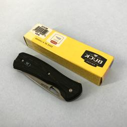 Buck Knives 347 Vantage Pro Contoured Black Folding Knife 03