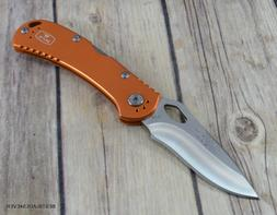 BUCK MADE IN USA SPITFIRE MIDLOCK FOLDING KNIFE WITH POCKET
