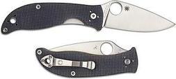 Spyderco C220GPGY Polestar EDC Folding Knife CTS-BD1 Drop Po