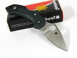 Spyderco Dragonfly 2 Plain Edge Folding Knife, British Racin