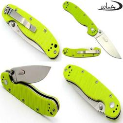 C301 Folding Camping Knife D2 Steel Blade G10 Handle Pocket