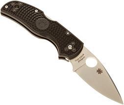 Spyderco C41PBK5 Native5 Lightweight Black Plain Edge FRN Ha
