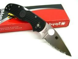 Spyderco C41SBK5 Native 5 Serrated Edge Folding Knife