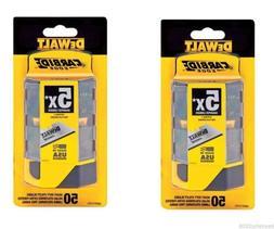 2 pack Dewalt Carbide Utility Knife Blades 50-Pack DWHT11131