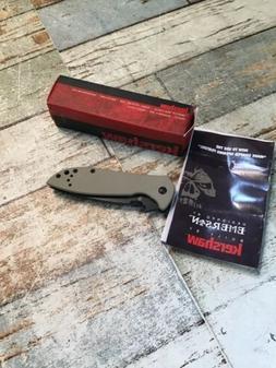 Kershaw CQC-4K Knife Folding Pocket- New Open Box- Read
