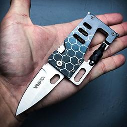 CREDIT CARD MULTI-TOOL Camping Hunting BestSeller989 FOLDING