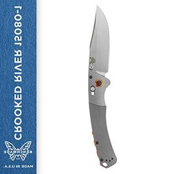 Benchmade Crooked River Axis Folding Knife w/Stainless Plain