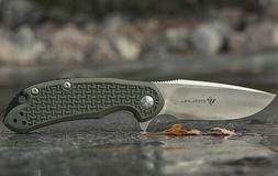 """Steel Will Cutjack C22M Folding Knife 3"""" D2 Tool Blade Textu"""