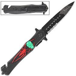 Dark Venom Emergency Pocket Knife