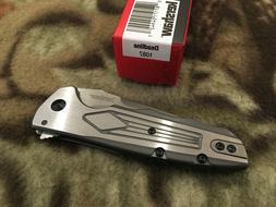 Kershaw Deadline Plain Edge 1087 Folding Knife Knives Matt D