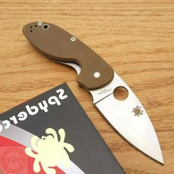 "Spyderco Efficient Folding Knife 3"" 8Cr13MoV Stainless Steel"
