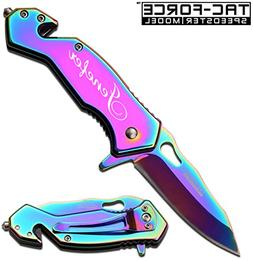 GIFTS INFINITY Free Engraving - Tac-Force Survival Knife: 3
