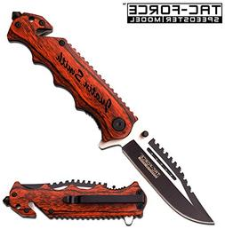 GIFTS INFINITY Free Engraving -Wood Survival Knife: 3 in 1 T