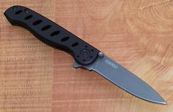evo junior linerlock folding knife 3 5