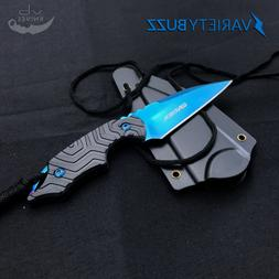 FIXED BLADE Tactical Survival Hunting Karambit Blade Neck Kn