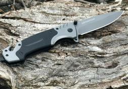 Folding Knife Camping Hunting Outdoor Tactical Survival Pock