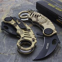 "6"" TAC FORCE KARAMBIT SPRING ASSISTED TACTICAL FOLDING KNIFE"