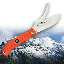 Outdoor Edge Grip-Lite Lockback with Orange Kraton Handle