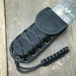 Heavy Duty Molded Black Nylon Tactical Folding Knife Sheath