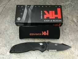 "Hogue HK Exemplar 3.25"" Pivot Lock Folding Knife Clip Point"