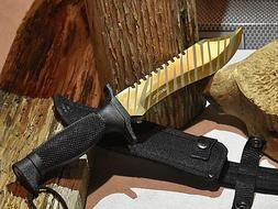 """WarTech Jungle Survival 12"""" CSGO Fixed Blade Bowie Hunting K"""