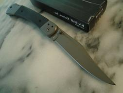 Ka-Bar Folding Hunter Pocket Knife Lockback Folder 5Cr15 Bla