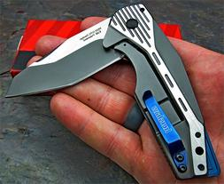Kershaw Malt Modified Tanto 8Cr13MoV Blade Assisted Open Fol
