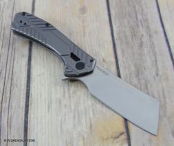 "KERSHAW ""STATIC"" FOLDING KNIFE RAZOR SHARP BLADE WITH POCKET"