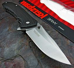 Kershaw Wire Assisted Opening Folding Pocket Knife Carbon Fi