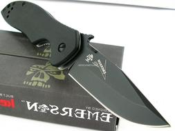 Kershaw KS6034BLK Emerson CQC Black Framelock Knife
